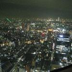新宿三井クラブ(54F)からの夜景