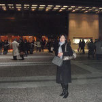 In front of Suntory Hall