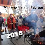 Wintergrillen Februar 2018