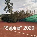 """Sturm """"Sabine"""" 2020"""