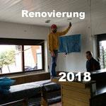 Renovierung Vereinsheim 2018