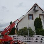 Dachüberstand (Holz) renovieten