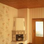 Wohnzimmer ohne Spanndecke