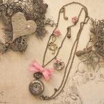 Uhr-Kette Floral No.: uf03#.