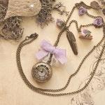 Uhr-Kette Floral No.: uf02#.