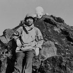 富士山頂にて(1965・7月)※著者