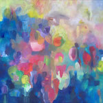 farblust 9 - TAUSEND BLUMEN / 105 x 65 cm / 2015 / acryl auf leinwand
