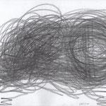 LOCKERUNGSÜBUNG / 2015 / graphit auf papier / (c) andrás mádai