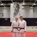 Caro Heimhofer & Ursula Peier an der Schweizermeisterschaft