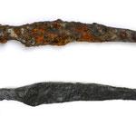 V/N - Eisenmesser aus Enns/OÖ (spätantik) © OÖ Landesmuseum (foto: s. heimel)