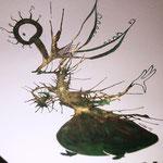 Das Schimmern der Tinte