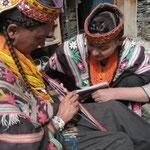 織り紐を作れる女性は少なくなってきている