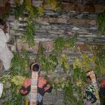 2009年、春祭りの神殿。