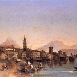 La città di Riva in un dipinto. Museo Civico