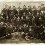 La banda di Riva nel 1897 diretta dal Maestro Giacomo Brunelli