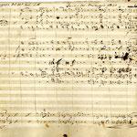 """Prima pagina della partitura """"Berengario d'Ivrea"""" scritta da Vincenzo De Lutti. Opera rappresentata al Teatro alla Scala di Milano"""