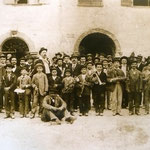 La banda di Riva in passeggiata a Torbole