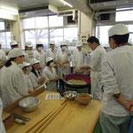 杉戸農業高校蕎麦打ち講師