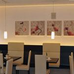 Mostra in Val Sarentino, arte digitale, serie di stampa su tela, 60x60 cm