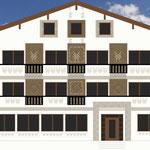 Fassadengestaltung Hotel