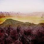 """""""Dornenwüste"""", Digitalkunst"""