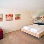 Vitalhotel Rainer, Ulten, Südtirol - Raumgestaltung Komfort-Arnikazimmer