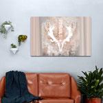 """""""Dignità, indipendenza, purificazione, fertilità e sessualità"""", arte digitale, stampa su tela"""