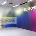 """Azienda Pedross, Val Venosta, Alto Adige - applicazione su parete riguardo al tema """"stampa digitale"""""""