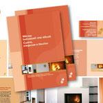 Fire and More, moderne Öfen - Imagebroschüre