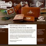 Federkielstickerei Xander Brixen - Design und Umsetzung der Website