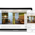 Eberhöfer Horst, Malerbetrieb - Design der Website