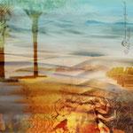 """Paesaggio surreale"", arte digitale"