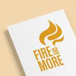 Fire and More, moderne Öfen - Logo