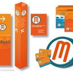 Mediateca Multilingue Merano - immagine coordinata
