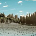 """""""Toscana"""", Digitalkunst, 100x75cm, Druck auf Aluminium"""