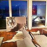 Appartamento privato - arte digitale, stampa su tela