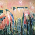 Acrylmalerei auf Leinwand