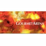 """Gourmetarena"", Merano Winefestival, Banner"