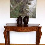 """Appartamento privato - """"Felce"""", arte digitale, stampa su tela"""