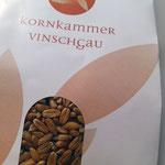 Kornkammer Vinschgau, cooperativa di agricoltori per la coltivazione del grano - packaging
