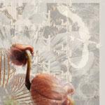 """""""Zyklen"""", Digitalkunst, Druck auf Leinwand, Serie, 60x60 cm"""