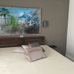 """Teneriffe"", arte digitale, applicazione su parete"