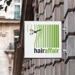 Parrucchiere Hairaffair - insegna