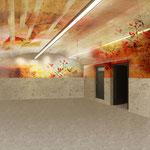 Wandgestaltung Privatkeller