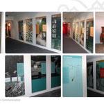 """Centro documentazione Stava - allestimento della mostra """"Stava 1985"""""""