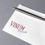 Vinum Bonum Algund, Südtirol - Logo und Briefumschlag