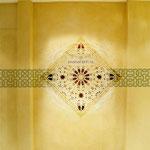 """****Hotel Quellenhof deluxa, Val Passiria, Alto Adige - decorazione pareti per le saune """"Hamam"""""""
