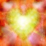 """""""Amore di cuore"""", pezzo unico, stampa su tela, 100x100 cm"""