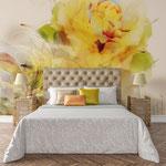 Privatwohnung - Gestaltung Rückwand Schlafzimmer