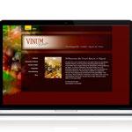 Vinum Bonum Algund - Design und Umsetzung der Website